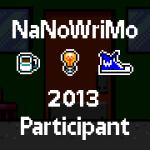 NaNoWriMo Milestone