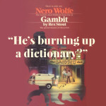 Excerpt from Gambit, a Nero Wolfe Mystery