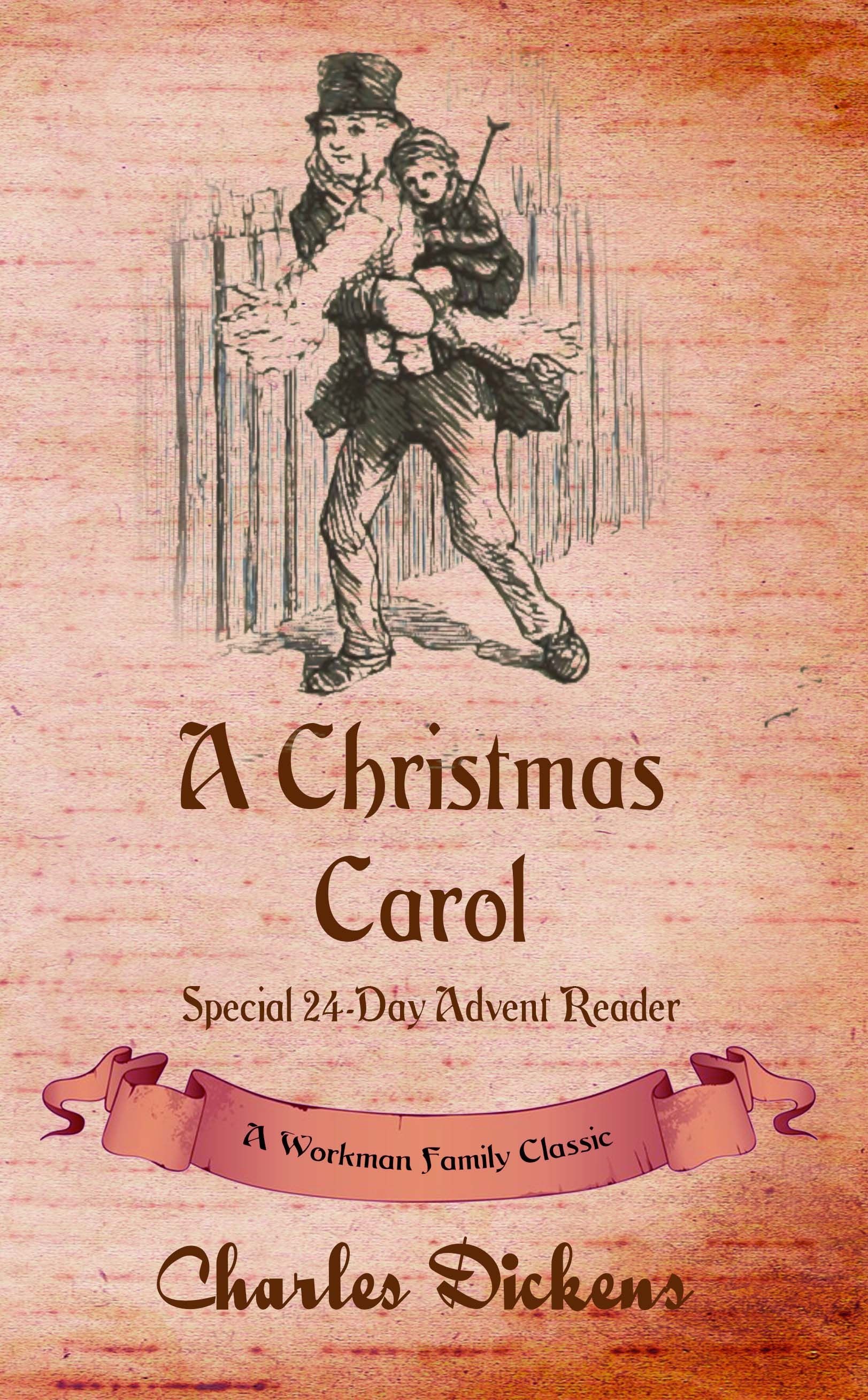christmas carol kindle cover