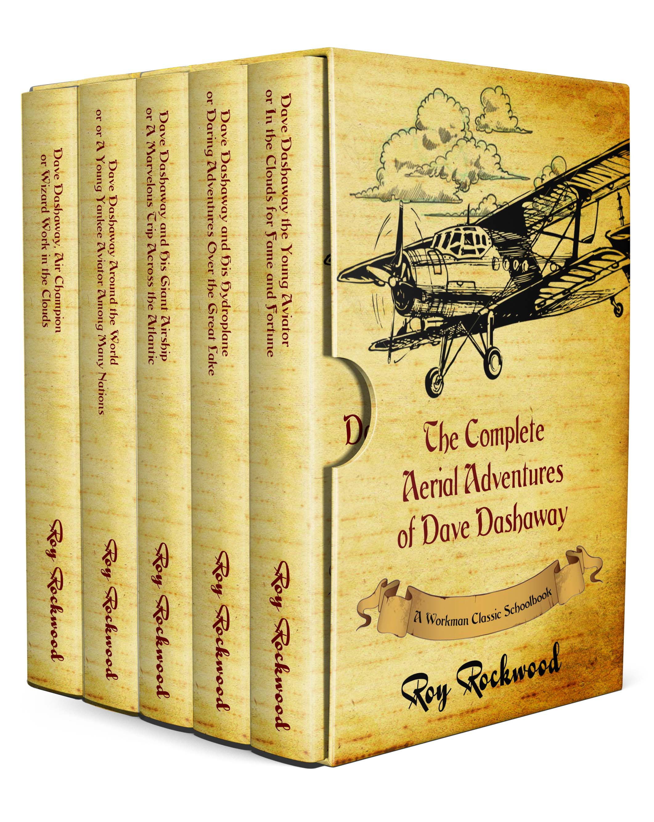 The Complete Aerial Adventures of Dave Dashaway