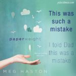 Excerpt from Paperweight by Meg Haston