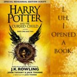Excerpt from The Cursed Child, by JK Rowling
