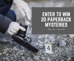Win Mystery Paperbacks