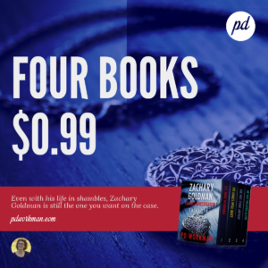 Get started on the Zachary Goldman series