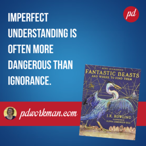 Educate Yourself and Help Others with Fantastic Beasts and Where to Find Them