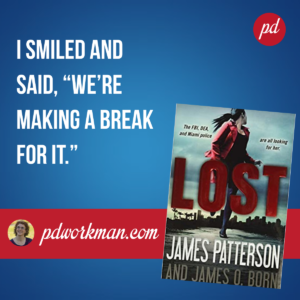 James Patterson's Lost will keep you enthralled